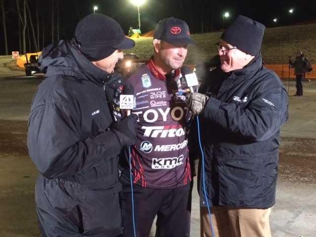 Geoff and Dale interview Bassmaster Classic competitor Gerald Swindle