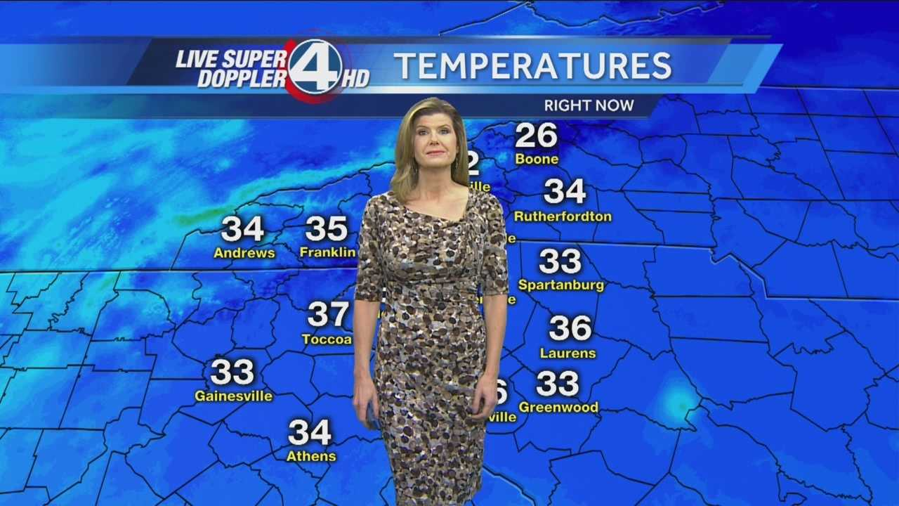 Mostly Cloudy and Cool. High 429 Upstate 46 WNC. Lows 39 to 41.