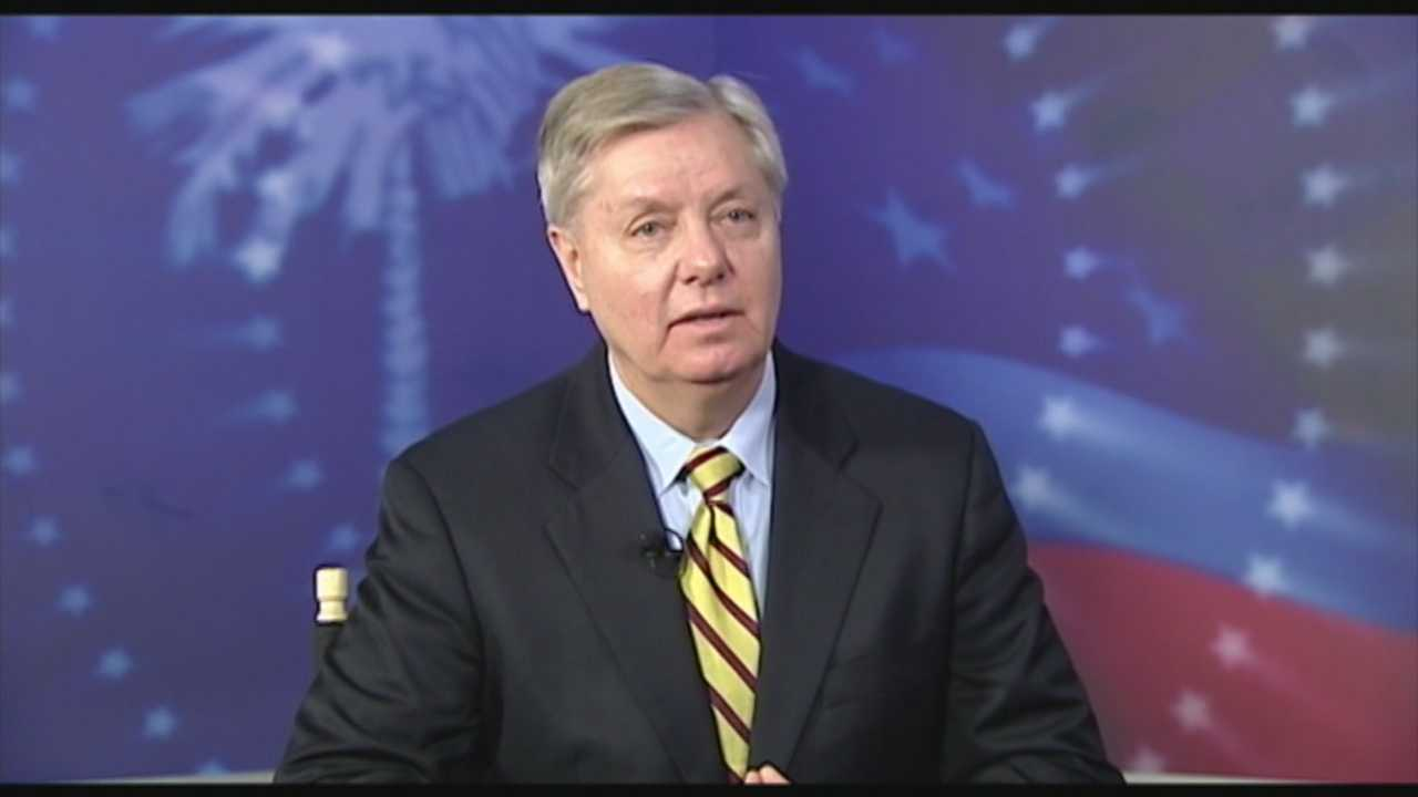 Sen. Graham discusses his possible presidential run