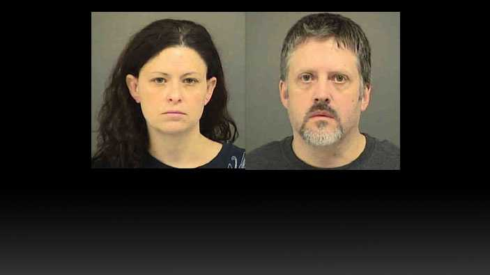Robert Jeffrey Taylor and Audrey Schurig: charged with unlawful neglect of a child