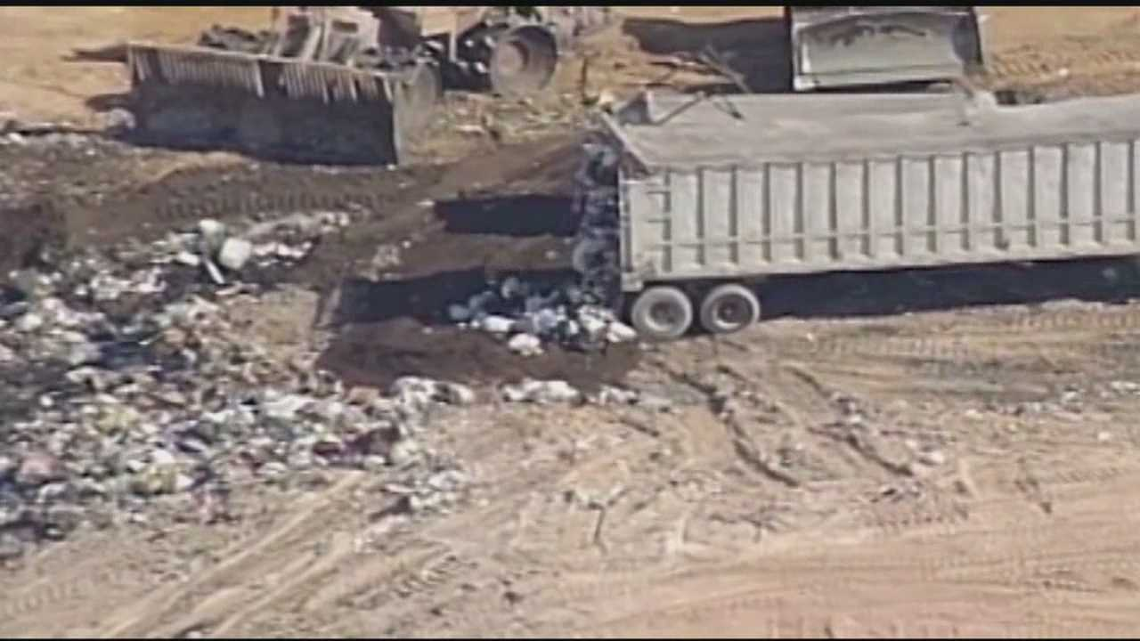 Henderson County is looking at five possible sites to dump it's solid waste, and the Twin Chimney's Landfill in Honea Path is one of them. WYFF News4's Liz Lohuis has more.