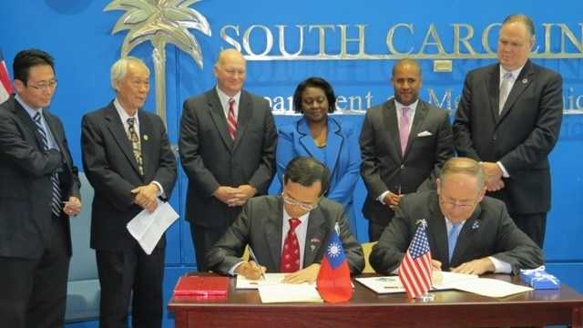 South Carolina and Taiwan sign driver's license reciprocity agreement