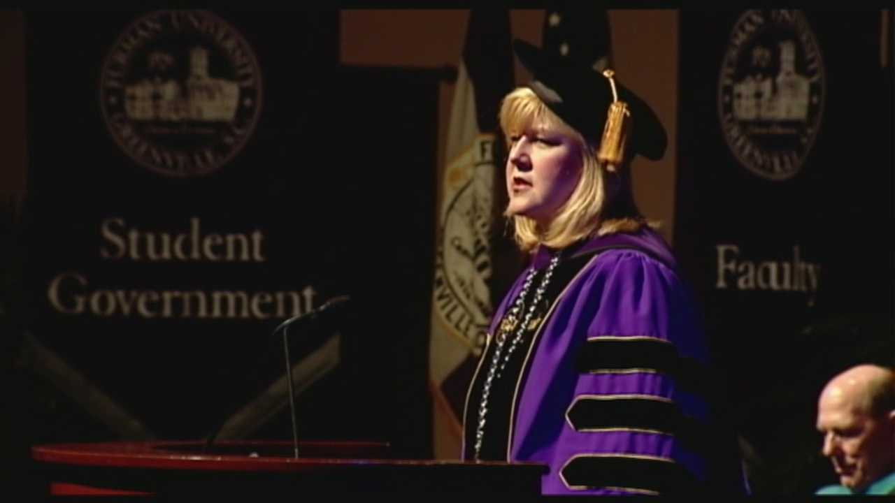 Dr. Elizabeth Davis was formally inaugurated as Furman's 12th President.