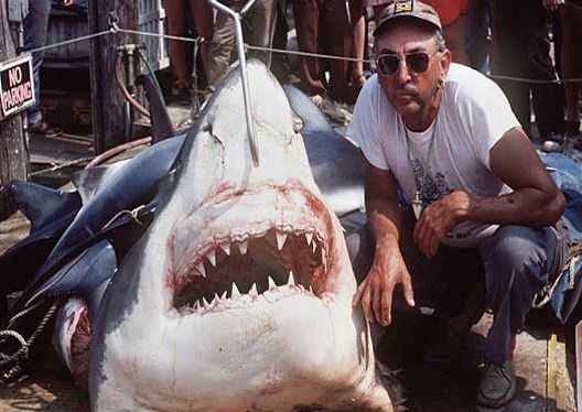 "The movie that scared everyone out of the water in 1975, ""Jaws,"" is widely believed to be based on fisherman Frank Mundus, who caught a great white shark off Long Island in 1964."