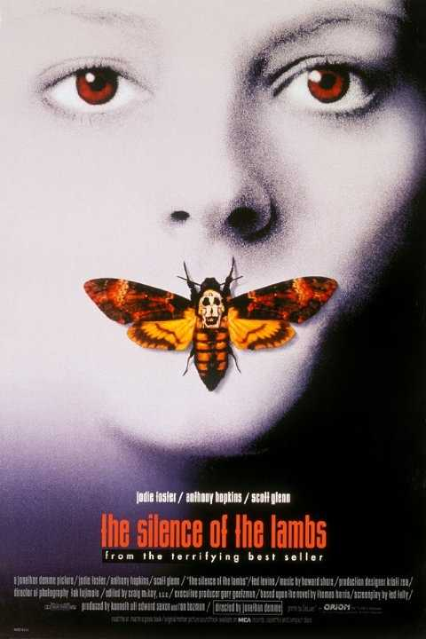 "The horror-thriller ""The Silence of the Lambs"" in 1991 starred Anthony Hopkins and Jodie Foster."