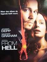 """From Hell"" in 2001 starred Johnny Depp as a British police inspector trying to solve a serial murder case."