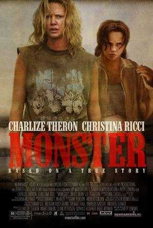 "The serial killer movie ""Monster"" in 2003 starred Charlize Theron, who won an Academy Award for the role."