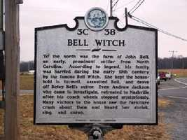 It is based on the legend of the Bell Witch in Tennessee in in the 1800s.  John Bell's death was the only one in American history recorded as caused by a ghost.