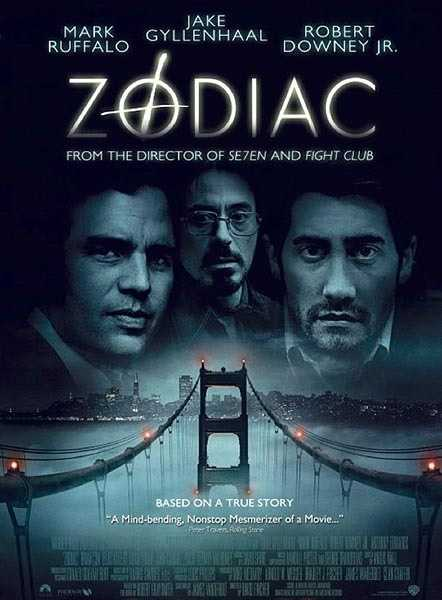 "Serial killer movie ""Zodiac"" in 2007 starred Jake Gyllenhaal, Robert Downey Jr., Mark Ruffalo and Anthony Edwards. There was an earlier film on the same topic in 1971."