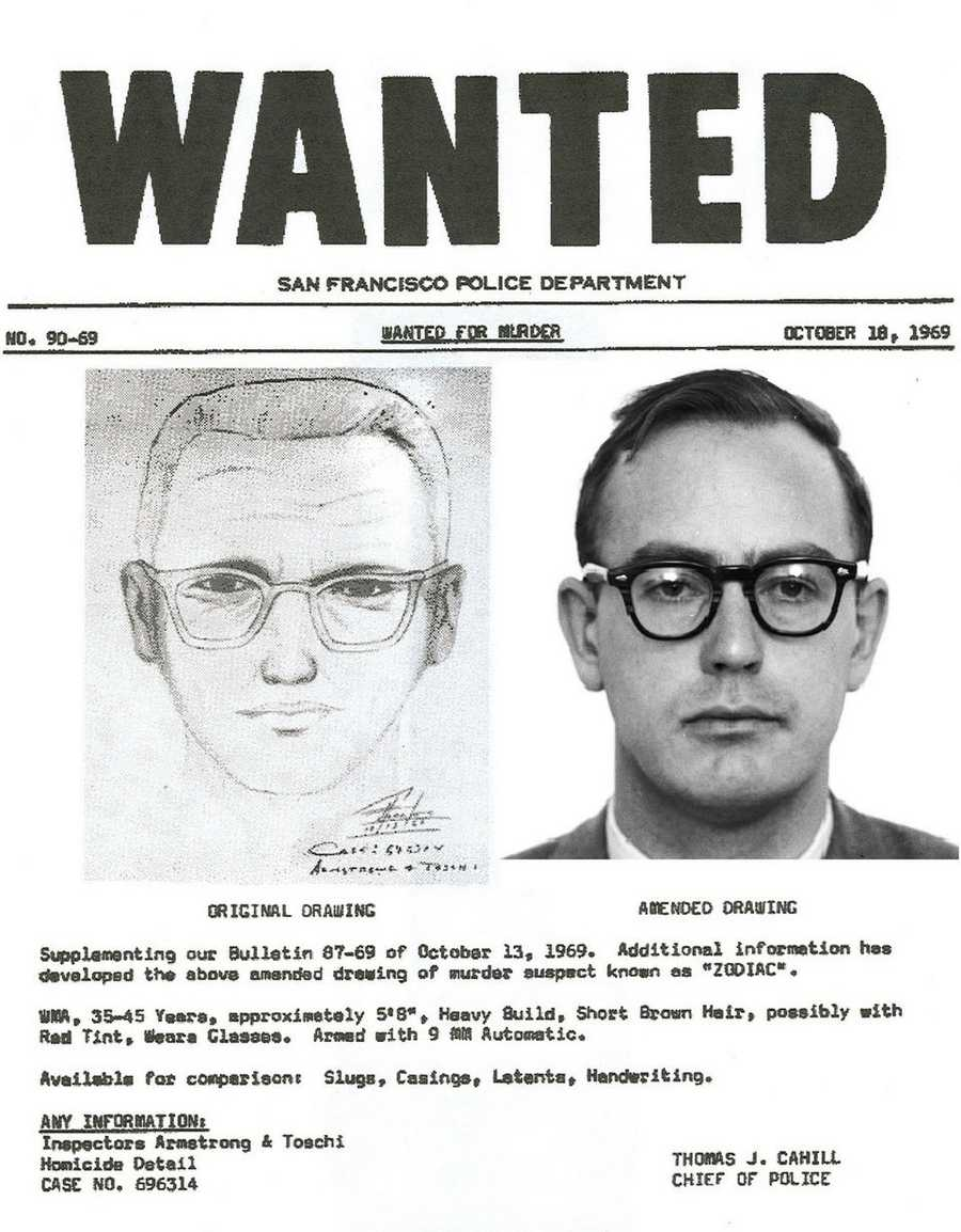 The film was based on a serial killer in San Francisco during the 1960s and '70s blamed for at least seven deaths.  The killer was never identified or caught.