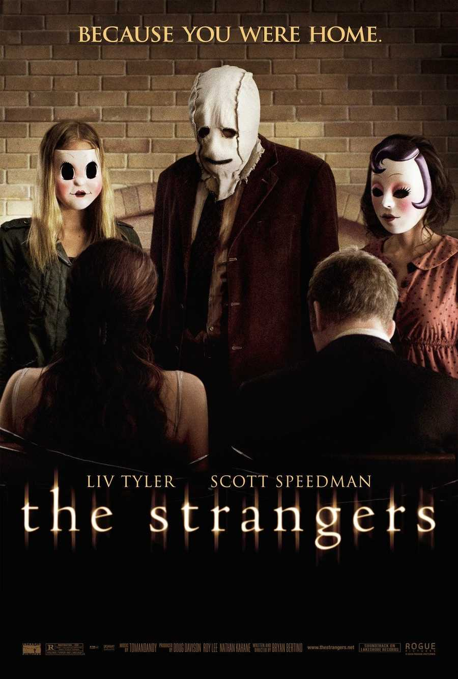 "The home invasion horror film ""The Strangers"" in 2008 starred Liv Tyler and Scott Speedman."