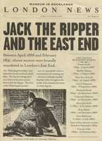 The film is based on Jack the Ripper, England's most famous serial killer, responsible for nearly a dozen murders in 1888. The case was never solved, though theories abound.