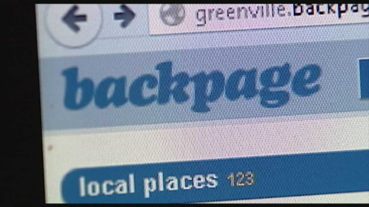 Child advocates say Backpage.com is used in the sex trafficking of underage victims.