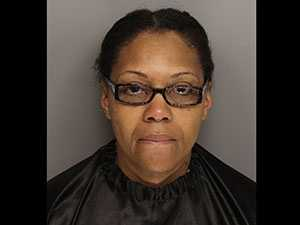 Harriett Williams: charged with several counts of larceny