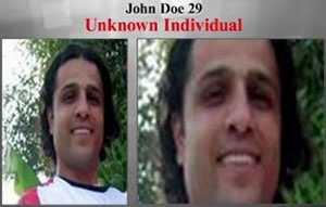 If you recognize this man, call 1-800-CALL-FBI.