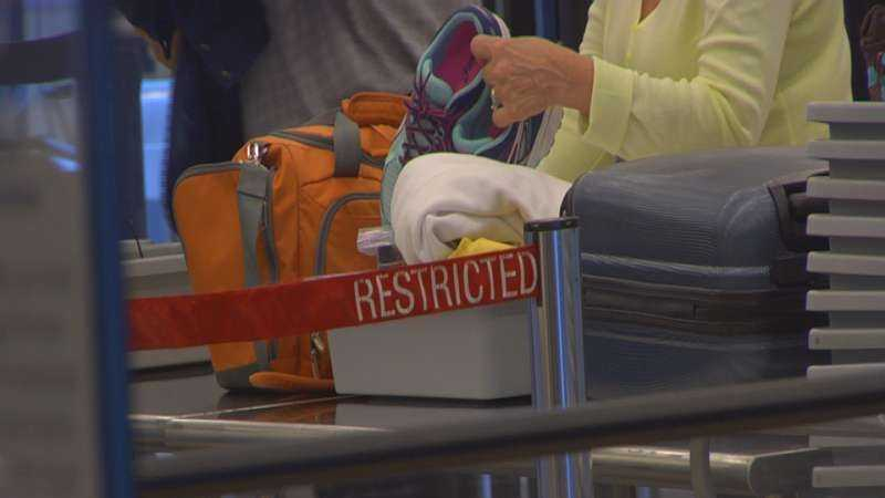 In South Carolina, TSA racked up about $2,500 in the fiscal year 2014 (Source: Mandy Noell)