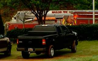 Maudin Fire Department responded to the leak just before 7 a.m.