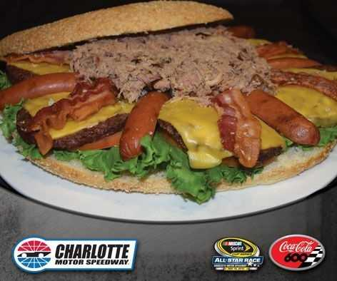 CMS Speedway Picnic Burger