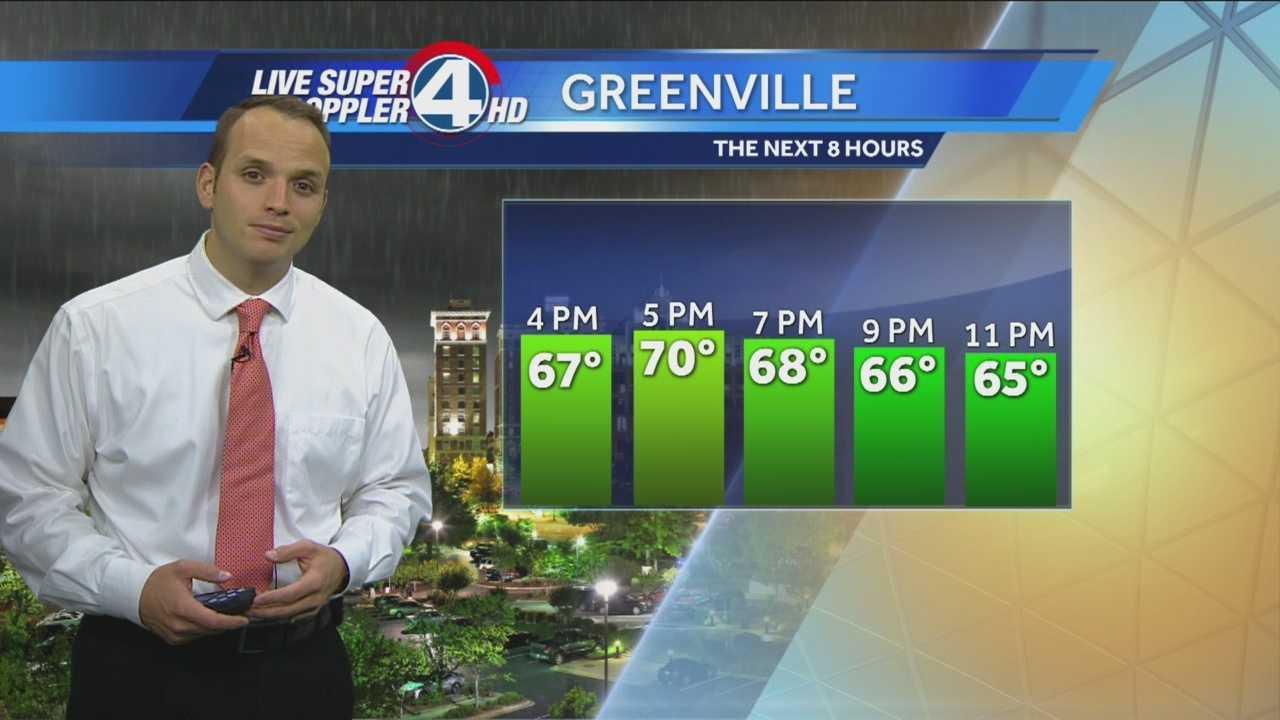 Rain and storms continue through Monday.