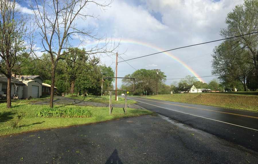 Rainbow over Enoree