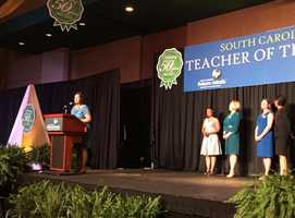 Koty makes her acceptance speech