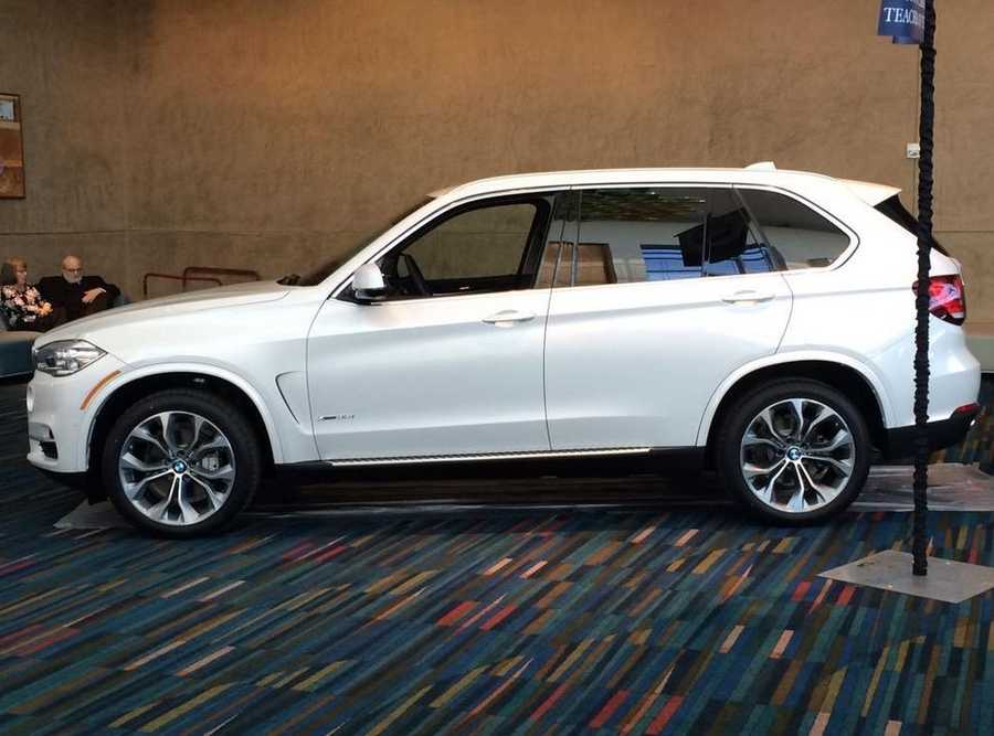 This is the BMW that Suzanne Koty drove home.