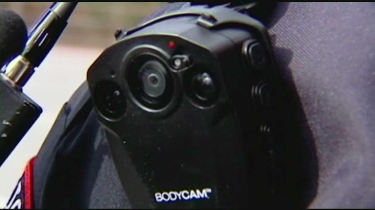 Corey Davis talks the new police body cameras program in Spartanburg.