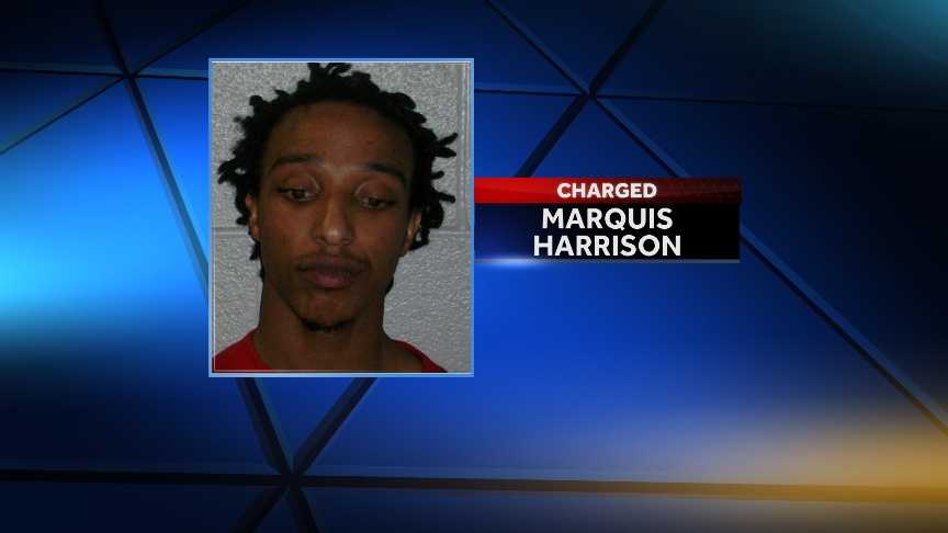Marquis Harrison: accused of robbing a convenience store and bank