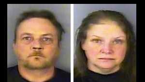 Ernest and Christie Jacques: Accused of unlawful conduct toward a child