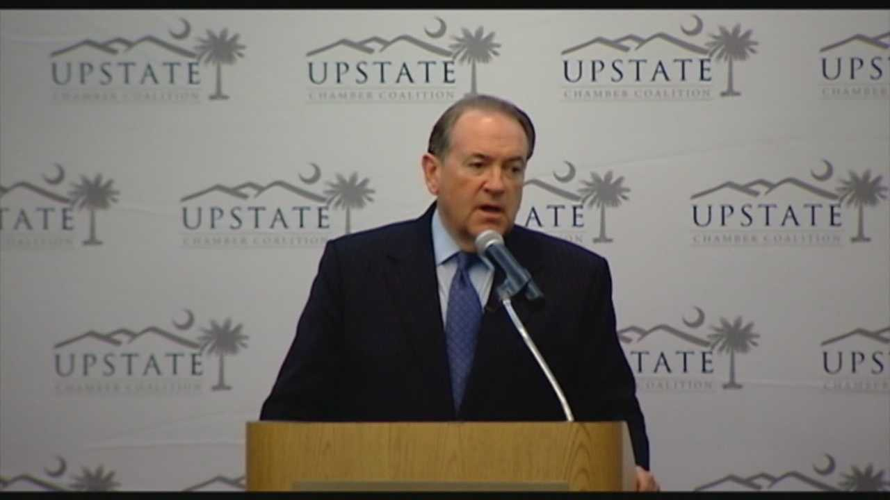 Mike Huckabee makes a stop in the Upstate