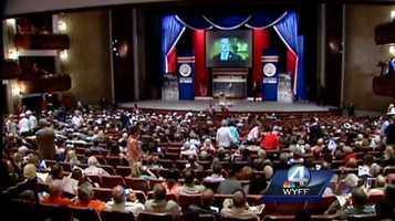 Republican candidates speak in Greenville
