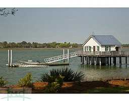 The estate overlooks the Wilmington River and had a deep water dock.