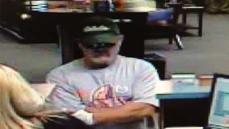 Suspect in Oconee County bank robbery