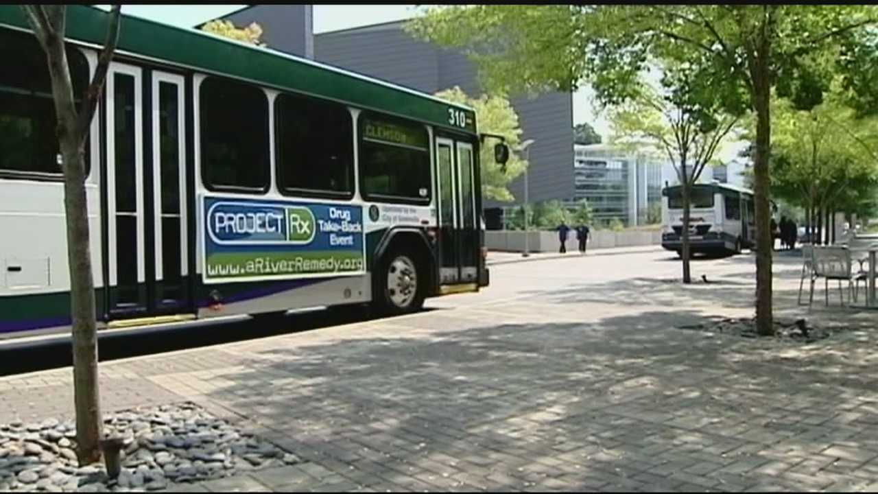 The city of Greenville could win 12 million grant to expand public transportation system in the city