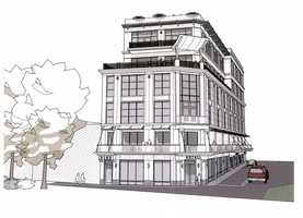 Click through to see renderings of the new building coming to Downtown Greenville.