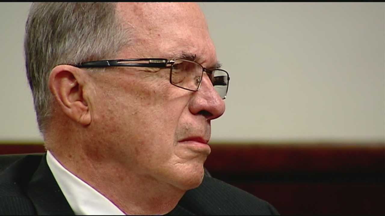 Simpsonville's mayor, Perry Eichor, who is currently suspended, goes to trial on misconduct in office charges.