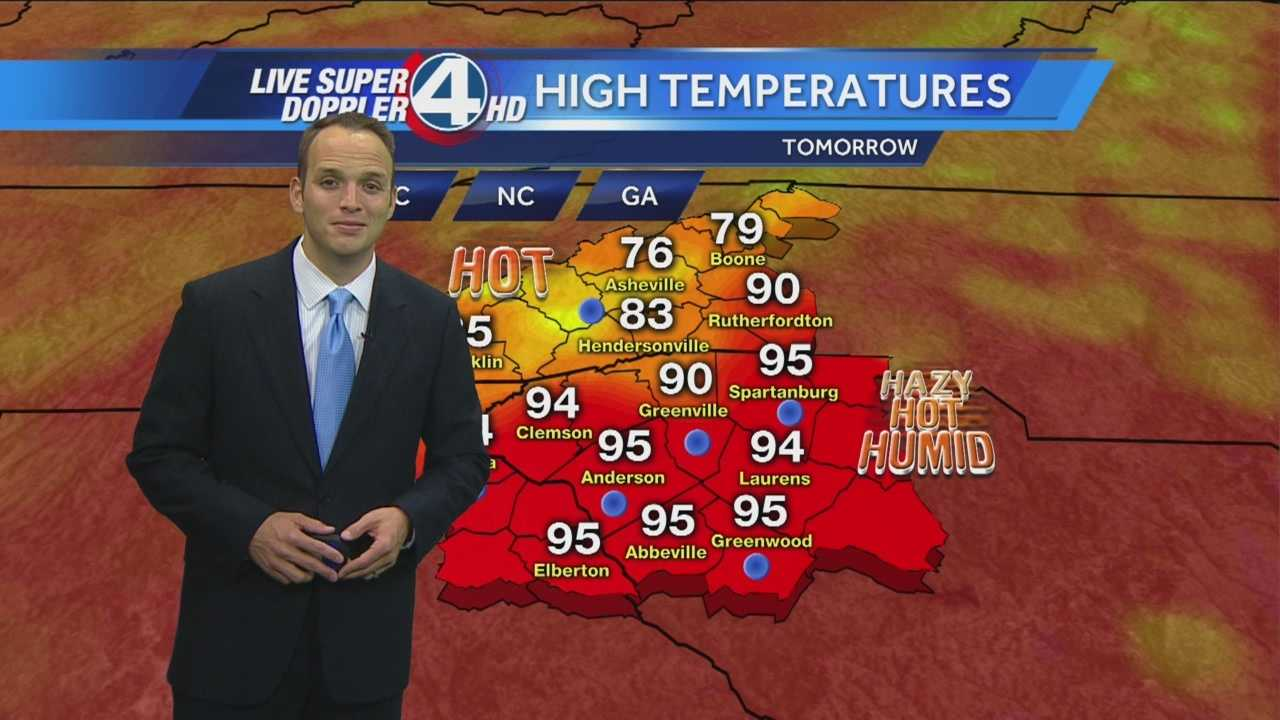 A ridge of high pressure will build into the area creating a heat wave across the east coast.