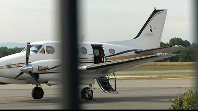 Plane awaiting to transport Charleston shooting suspect
