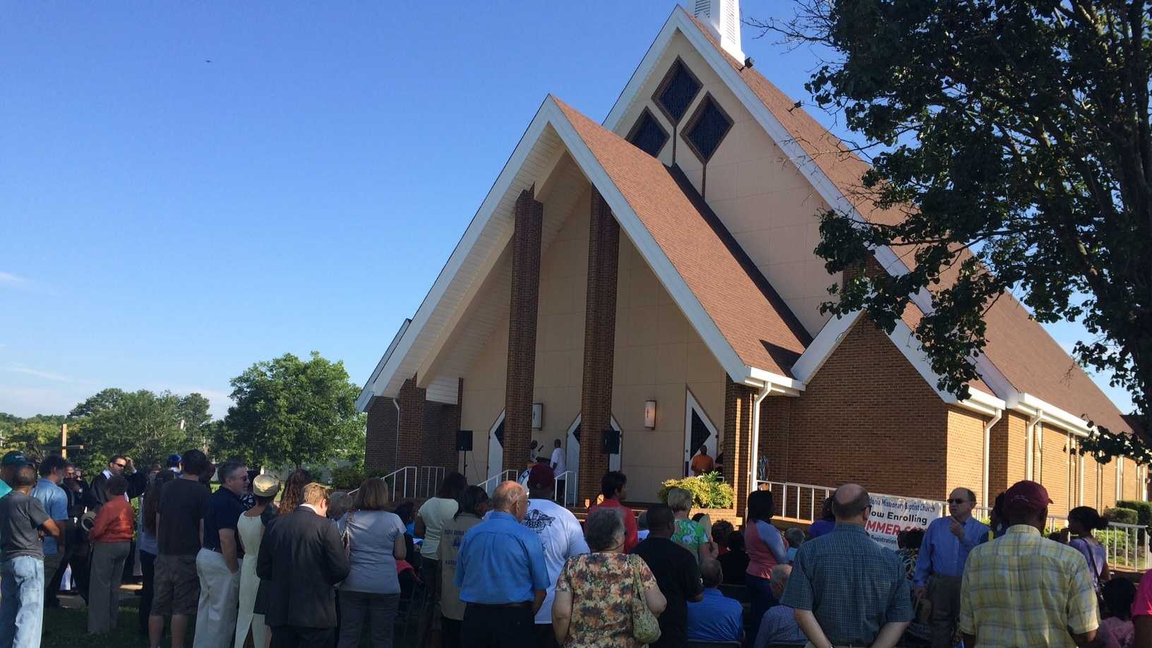 The NAACP in Spartanburg has organized a prayer vigil at the Macedonia Baptist Church.