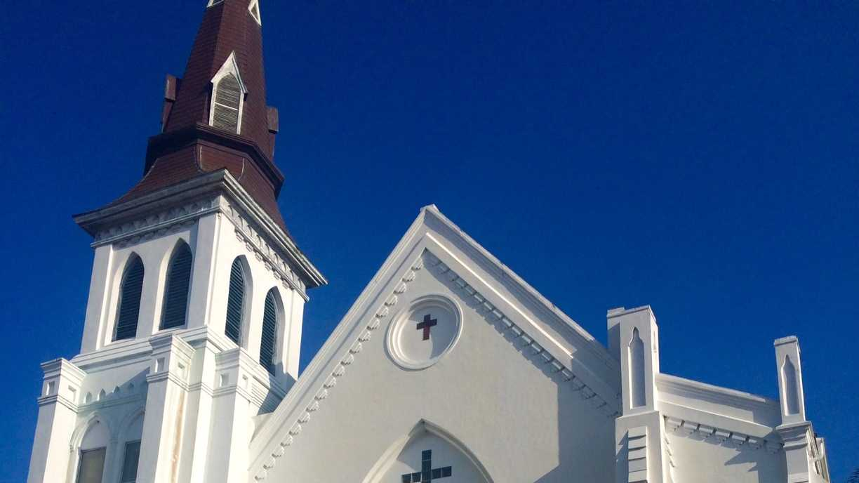 The Mother Emanuel AME Church reopened on Sunday morning.