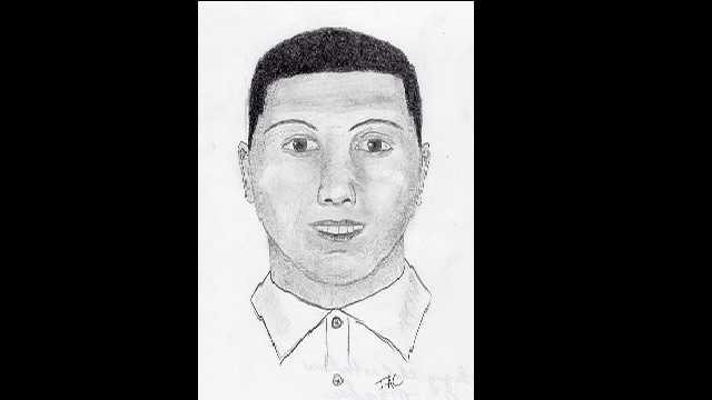 Bountyland robbery suspect sketch