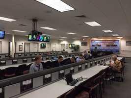 Daytona news room