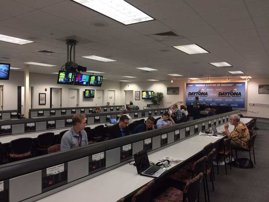 Daytona news room
