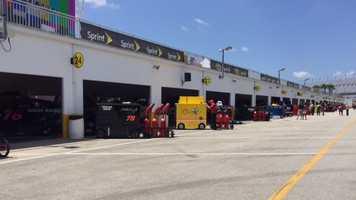 Daytona Pit Road