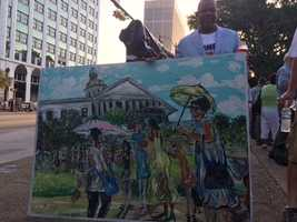 More art from Ernest Lee, a well-known artist in Columbia.