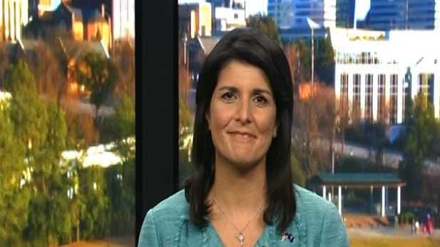 Gov. Nikki Haley appears on 'Meet the Press' and is asked about the Confederate flag, Donald Trump and future political plans.