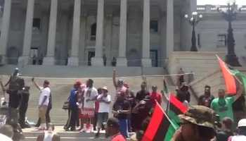 Black Educators for Justice rally