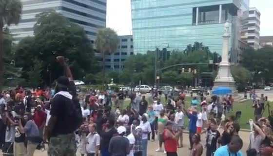 Black Educators for Justice rally at Statehouse part 2
