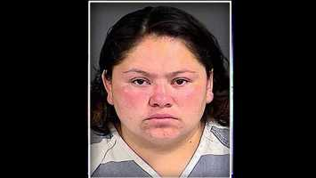 Yuridia Mejia-Yanez: accused of leaving puppy in a car in direct sunlight