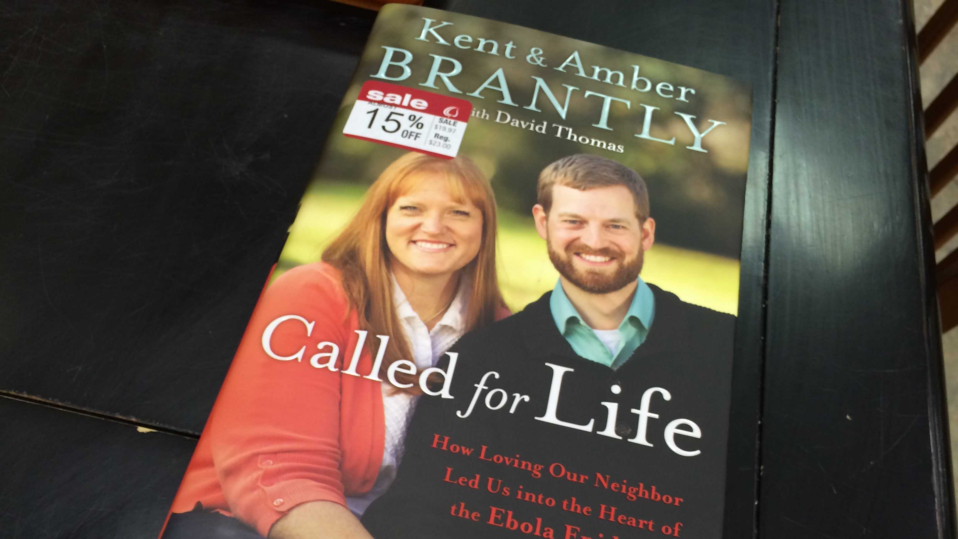 Dr. Kent Brantly is visiting Christian Supply Inc. Saturday in Spartanburg.